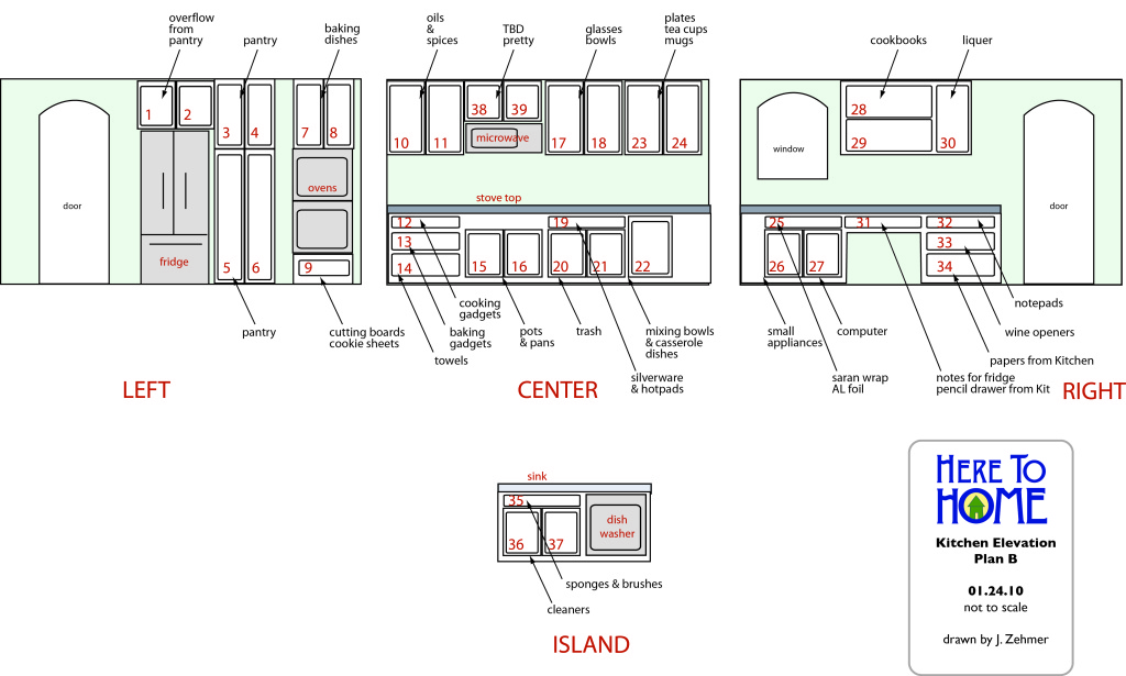 Another kitchen plan from a senior move manager